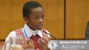 11-Year-Old Naomi Oloyede Gets Standing Ovation After Speech On Corruption In Austria [Video] 6