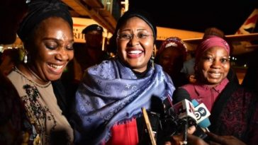 First Lady Aisha Buhari Finally Returns To Nigeria, Reveals Why She Stayed So Long Abroad 5