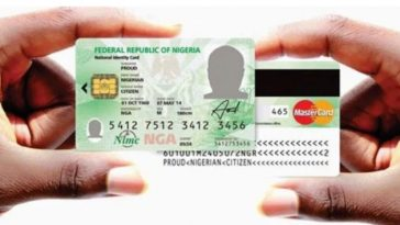Nigerians To Pay N3,000 For National ID Card Renewal, Replacement Costs N5,000 - NIMC 9