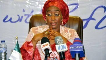 President Buhari's Alleged Second Wife, Sadiya Umar Farouq Takes Over SIP From VP Osinbajo 9