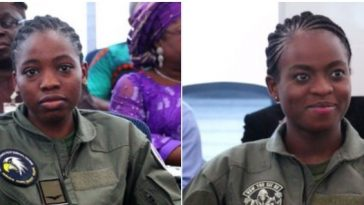 Kafayat Sanni And Tolulope Arotile Becomes First Female Fighter, Helicopter NAF Pilots [Photos] 6
