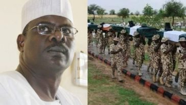 847 Nigerian Soldiers Killed By Boko Haram Buried In One Borno Cemetery – Senator Ali Ndume 6