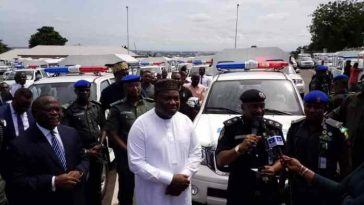 Governor Ugwuanyi Buys 100 Innoson Vans For Nigerian Police To Facilitates Security In Enugu 5