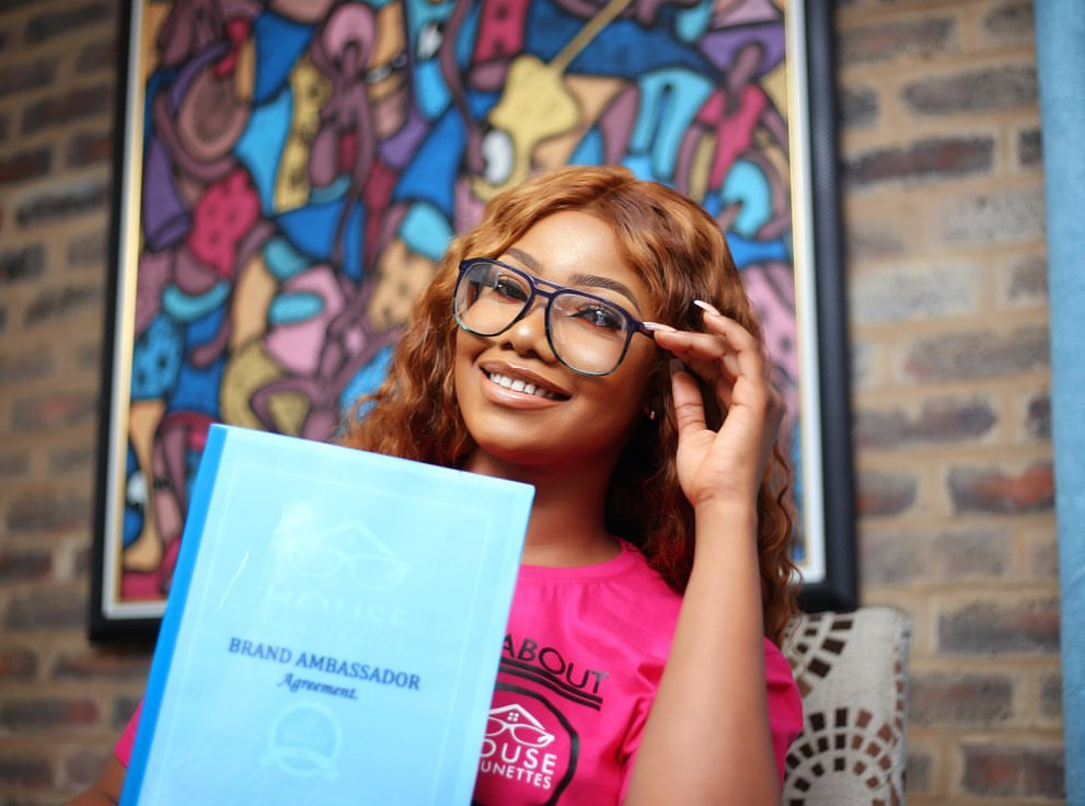 BBNaija Ex-housemate, Tacha Becomes Brand Ambassador For House Of Lunettes [Photos] 1
