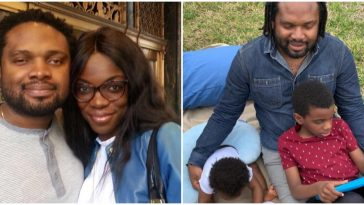 Wife Of Blind Legendary Producer, Cobhams Asuquo Reveals Their Son Was Born Blind 2