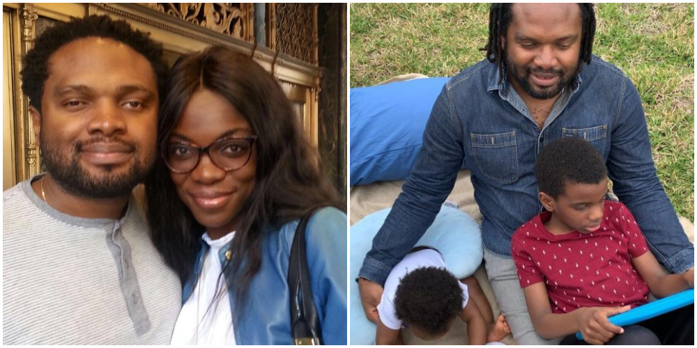 Wife Of Blind Legendary Producer, Cobhams Asuquo Reveals Their Son Was Born Blind 1