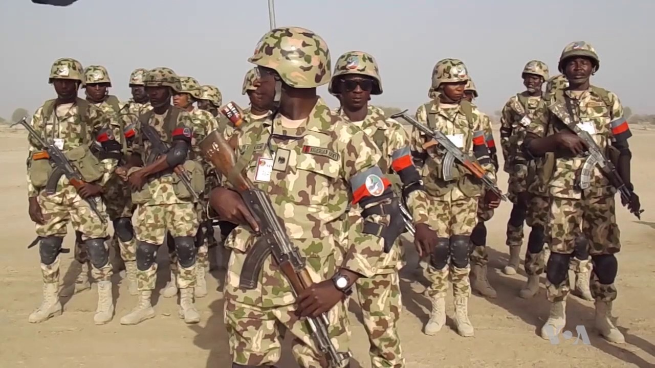 Nigerian Army Rename 'Operation Python Dance' To 'Operation Dance For Peace' 1