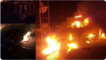 Residents Flees In Panic As Another Fuel Tanker Falls And Explodes In Onitsha [Video] 5