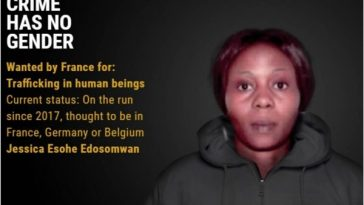 26-Year-Old Nigerian Woman, Jessica Edosomwan Among 18 Most Wanted Female Fugitives In Europe 6