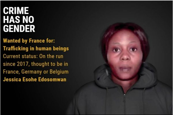 26-Year-Old Nigerian Woman, Jessica Edosomwan Among 18 Most Wanted Female Fugitives In Europe 1