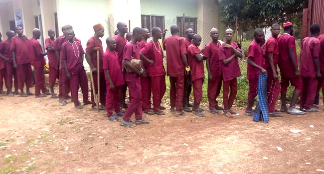 Buhari Reacts As Police Rescues More 147 Victims From Another Islamic Torture Centre In Kaduna 4