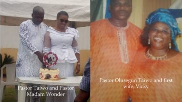Pastor Olusegun Taiwo Exposed As Wife Catches Him Secretly Marrying Another Woman In Lagos 2