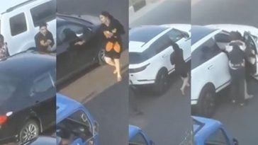 Bobrisky Publicly Fights Man That Bashed His New Range Rover In Lagos Traffic [Photos/Video] 6