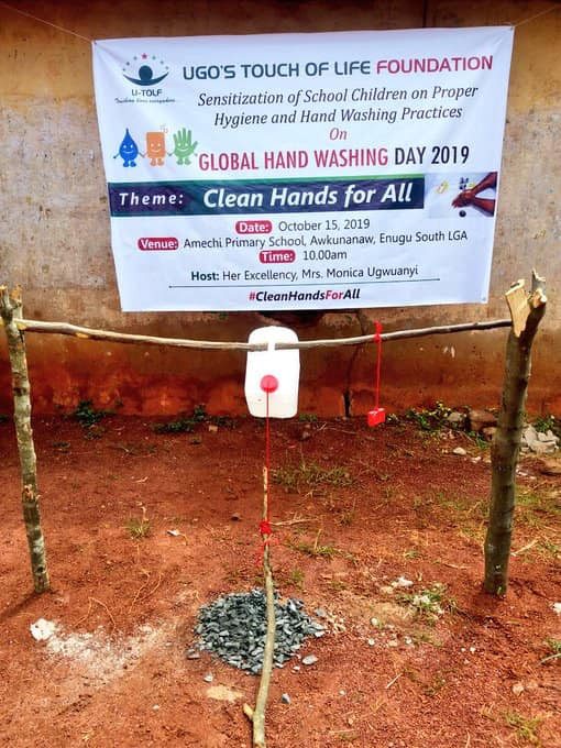 Enugu First Lady Commissions Tippy Taps For Primary Schools To Aid Hand Washing [Photos] 2