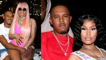 American Rapper, Nicki Minaj Secretly Marries Kenneth Petty After A Year Of Dating [Video] 9