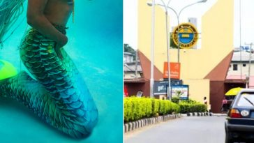 Female Student Allegedly Turns Into A Mermaid Inside UNILAG's Fagunwa Hall [Video] 9