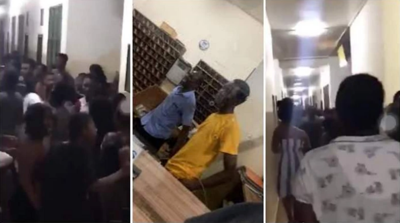 Male Student Caught Red-Handed Attempting To Rape A Sleeping Female Student [Video] 1