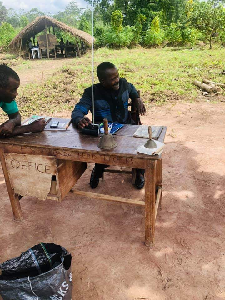 Photos Of Cross River Primary School Where Pupils Learn Under A Thatched Hut 4