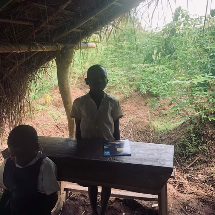 Photos Of Cross River Primary School Where Pupils Learn Under A Thatched Hut 5