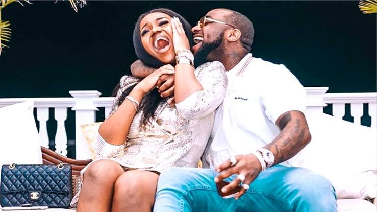 Davido and baby in isolation as fiancee Chioma tests positive for coronavirus 1