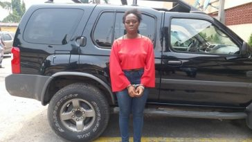 23-Year-Old Runs Girl Escapes With Man's SUV, Phones Worth N1m After Sex Romp In Lagos 11