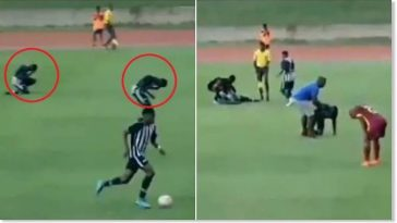 Mysterious Thunder Strikes Two Young Players During A Football Match In Jamaica [Video] 2