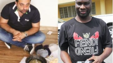 EFCC Arrests Mompha's Lebanese Collaborator With Charms After Fierce Battle In His N1.8 Billion Lagos Apartment 11