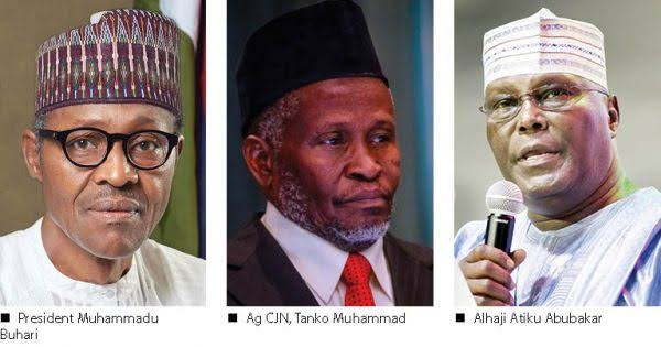 Breaking News: Atiku Loses Again To Buhari At Supreme Court Led By CJN Tanko Mohammad 1