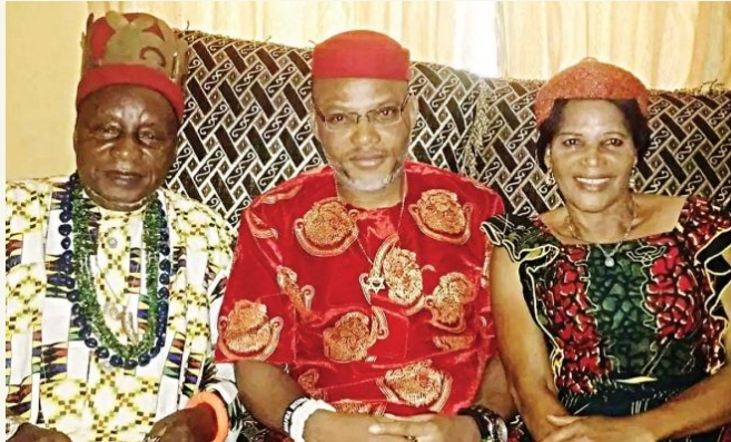 Nnamdi Kanu's Father Is Dead, Shortly After Death Of His Mum 1