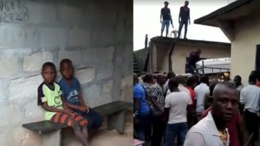 Pandemonium In Abia As Residents Rescues Two Kids Hidden In Caskets By Kidnappers [Videos] 2