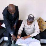 Abba Kyari Ignores Osinbajo In Nigeria, Takes Bill To Buhari In London To Sign 28