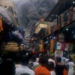 VIDEO: Balogun Market Lagos Island Is On Fire - Breaking News 27