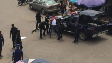 Man And His Girlfriend Arrested After Spending A Night Inside Sterling Bank's Toilet In Delta 3