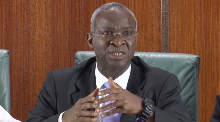 """""""Nigerian Roads Are Not As Bad As People Say They Are"""" - Babatunde Fashola 1"""