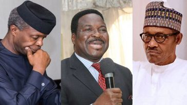 """Fight Cabals Like A Man With Manhood Or Resign Honourably""- Ozekhome Tells Osibanjo 5"