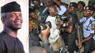 VP Osinbajo's Security Aides Beats Up Vanguard Journalist During An Event In Aso Rock 2