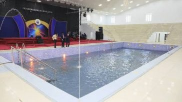See Abuja Church Where Pastor Charges N50,000 To Swim In Miracle Swimming Pool [Photos] 4