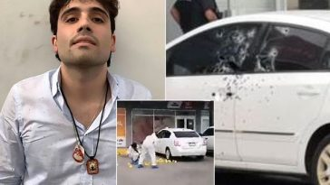 El Chapo: Policeman Who Arrested Son Of Mexican Drug Lord, Shot 155 Times In Broad Daylight 2
