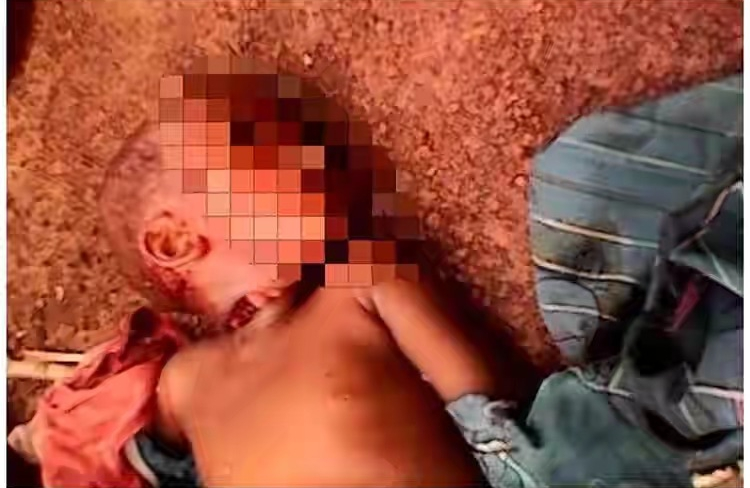 Jealous Lady Fulfills Threat, Kills Neighbour's 4-Year-Old Son In Imo State [Graphic Photos] 2