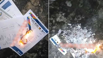 Nigerian Graduate Burns His School Certificates To Ashes, Says School Is A Major Scam [Video] 6