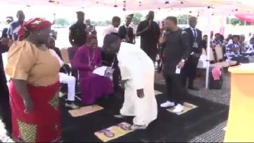 Bishop Sam Zuga Cures Retired Army Officer With 10 Years Spinal Cord Injury In Adamawa 4