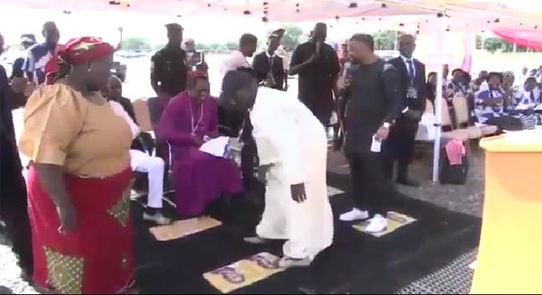 Bishop Sam Zuga Cures Retired Army Officer With 10 Years Spinal Cord Injury In Adamawa 1