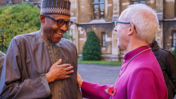 President Buhari Pays Visit To The Arch-Bishop Of Canterbury In London [Photos] 7