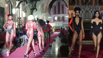 Outrage As 'Bikini Fashion Show' Held Inside Anglican Church In Trinidad [Photos/Video] 7
