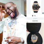 Davido Buys Wristwatch Worth N54 Million, Says The Price Hurt His Bank Account [Photo] 28