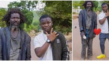 """""""Never Run Away From Your Parents"""" - Mans Says As He Shares Photo With His Mentally Challenged Dad 6"""