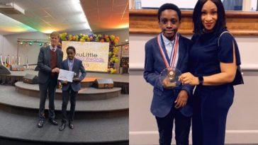 12-Year-Old Chika Ofili Honoured in UK For His New Mathematical Discovery [Photos] 5