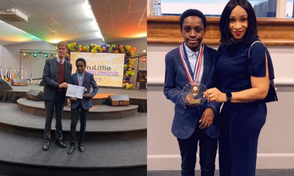 12-Year-Old Chika Ofili Honoured in UK For His New Mathematical Discovery [Photos] 1