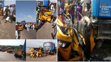 Trailer Crushes 20 People To Death While Being Chased By Bribe Seeking Policemen In Yola 4