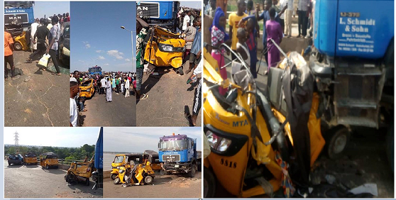 Trailer Crushes 20 People To Death While Being Chased By Bribe Seeking Policemen In Yola 1